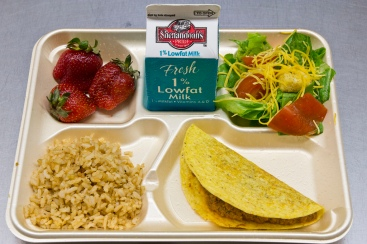 Healthy Lunch Tray