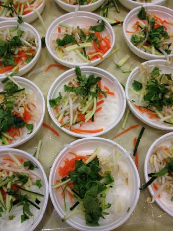 Dishes of Pho